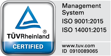 Management System ISO9001 ISO14001 www.tuv.com ID 0910089065